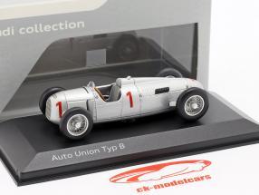 Auto Union Typ B #1 sølv 1:43 Minichamps