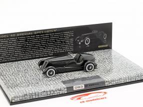 Ford Edsel Special Speedster Baujahr 1934 schwarz 1:43 Minichamps
