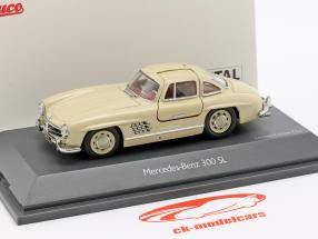 Mercedes-Benz 300 SL (W198) Flügeltürer bege 1:43 Schuco