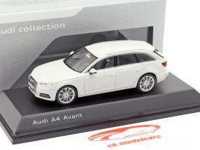 Audi A4 Avant gletscher hvid 1:43 Spark