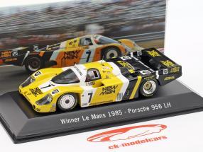 Porsche 956 LH #7 Winner 24h LeMans 1985 Ludwig / Barilla / Krages 1:43 Spark