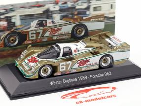 Porsche 962 #67 Winner 24h Daytona 1989 Wollek, Bell, Andretti 1:43 Spark