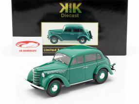 Moskwitsch 400 Opførselsår 1946 grøn 1:18 KK-Scale