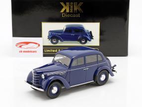 Moskwitsch 400 año de construcción 1946 azul oscuro 1:18 KK-Scale