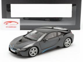 BMW i8 (i12) Année 2014 gris métallique 1:18 ParagonModels