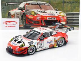 Porsche 911 GT3 R #31 Vinder VLN 3 Nürburgring 2018 Frikadelli 1:18 Minichamps