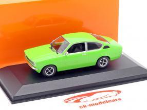 Opel Kadett C Coupe Baujahr 1974 grün 1:43 Minichamps