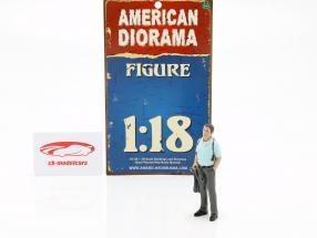 Detetive versão 2 figura 1:18 American Diorama