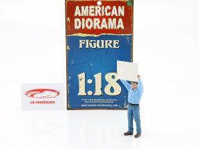 reflektorer holder figur 1:18 American Diorama
