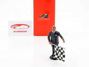 racetracks directeur 1950-70 figuur 1:18 LeMansMiniatures