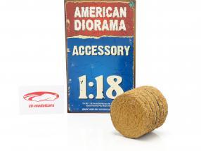 Heuballen 1:18 American Diorama