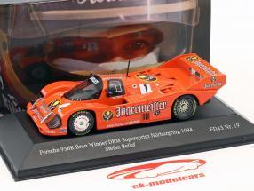 Porsche 956K #1 ganador DRM Supersprint Nürburgring 1984 Stefan Bellof 1:43 CMR