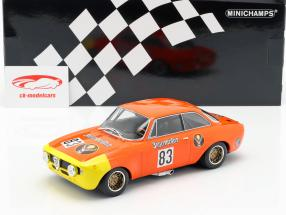 Alfa Romeo GTA 1300 Junior #83 DRM 1972 Rainer Maschke 1:18 Minichamps