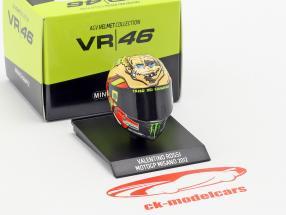 Valentino Rossi MotoGP Misano 2012 AGV capacete 1:10 Minichamps