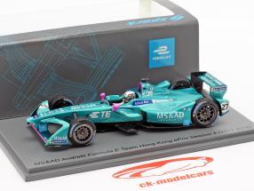 Kamui Kobayashi Andretti ATEC-03 #27 HongKong ePrix fórmula E 2017/18 1:43 Spark