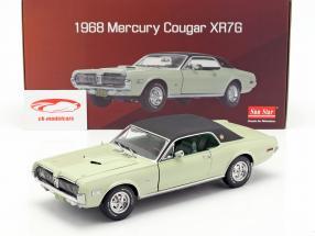 Mercury Cougar XR7G Opførselsår 1968 seafoam grøn 1:18 SunStar