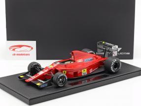 Gerhard Berger Ferrari 640 #28 formule 1 1989 1:18 GP Replicas