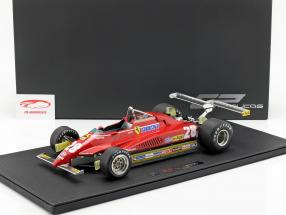 Didier Pironi Ferrari 126C2 #28 longue plage GP formule 1 1982 1:12 GP Replicas