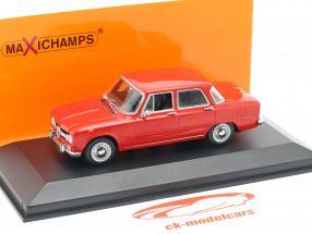 Alfa Romeo Giulia 1600 año de construcción 1970 rojo 1:43 Minichamps