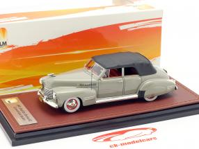 Cadillac Series 62 Convertible Sedan lukket Opførselsår 1941 grå 1:43 GLM
