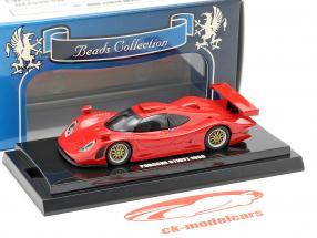 Porsche 911 GT1 année de construction 1998 rouge 1:64  Kyosho