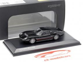 Lamborghini Miura P400 noir 1:64 Kyosho