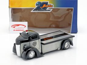 Ford COE Flatbed Truck Bouwjaar 1947 zilver / zwart 1:24 Jada Toys