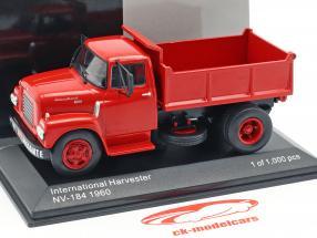 International Harvester IHC NV-184 año de construcción 1960 rojo 1:43 WhiteBox