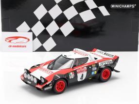 Lancia Stratos HF #4 gagnant Rallye San Remo 1978 Alen, Kivimäki 1:18 Minichamps