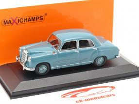 Mercedes-Benz 180 (W120) Bouwjaar 1955 lichtblauw 1:43 Minichamps