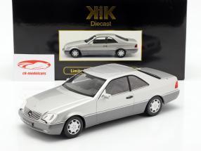Mercedes-Benz 600 SEC (C140) year 1992 silver 1:18 KK-Scale