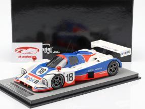 Aston Martin AMR1 #18 cuarto Brands Hatch 1989 Leslie, Redman 1:18 Tecnomodel