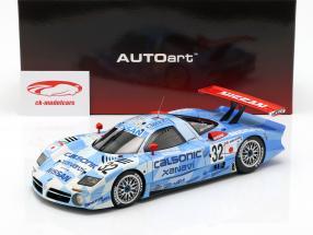 Nissan R390 GT1 #32 tercero 24h LeMans 1998 Nissan Motorsports 1:18 AUTOart