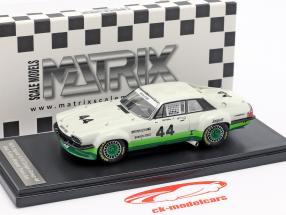 Jaguar XJ-S Coupe #44 vincitore Trans Am Series 1978 Bob Tullius 1:43 Matrix