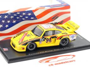 Porsche 935 #94 gagnant Watkins Glen 6h 1979 D. Whittington, Ludwig, B. Whittington 1:43 Spark