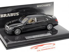 Maybach Brabus 900 baseado em Mercedes-Benz Maybach S600 2016 preto 1:43 Minichamps