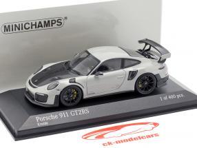 Porsche 911 (991 II) GT2 RS ano de construção 2018 giz cinza / preto 1:43 Minichamps