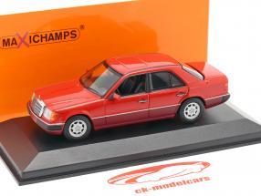 Mercedes-Benz 230E (W124) year 1991 red 1:43 Minichamps