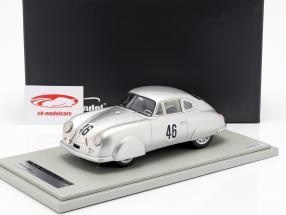 Porsche 356 SL #46 Vainqueur de la classe 24h LeMans 1951 Veuillet, Mouche 1:18 Tecnomodel
