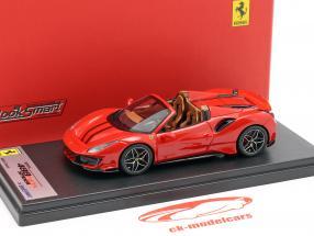 Ferrari 488 Pista Spider Opførselsår 2018 corsa rød 1:43 LookSmart