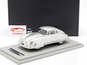 Porsche 356 SL Street Version ano de construção 1951 prata 1:18 Tecnomodel