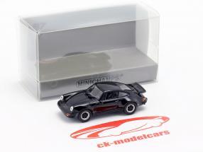Porsche 911 Turbo (930) Bouwjaar 1977 zwart 1:87 Minichamps