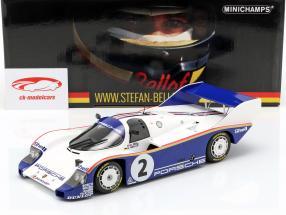Porsche 956K #2 vencedor 1000km Sandown Park 1984 Bellof, Bell 1:18 Minichamps