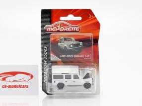 Land Rover Defender 110 zilver 1:64 Majorette