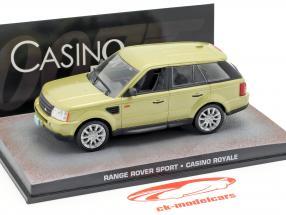 Range Rover Sport Car filme de James Bond Casino Royale ouro 1:43 Ixo