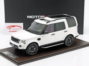 Land Rover Discovery IV Bouwjaar 2016 wit 1:18 MotorHelix