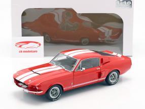 Shelby Mustang GT 500 Opførselsår 1967 rød 1:18 Solido