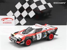 Lancia Stratos #1 winnaar Rallye Dynavit Saarland 1978 Röhrl, Geistdörfer 1:18 Minichamps