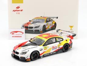 BMW M6 GT3 #42 vincitore FIA GT World Cup Macau 2018 Augusto Farfus 1:18 Spark