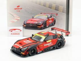 Mercedes-Benz AMG GT3 #888 2e FIA GT World Cup Macau 2018 M. Engel 1:18 Spark